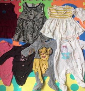 детская одежда на девочку
