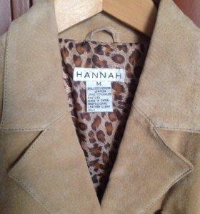 Куртка замшевая женская