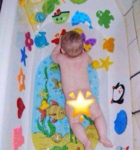 Мини коврики для ванны