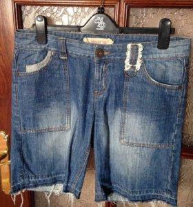 Шорты джинсовые 40