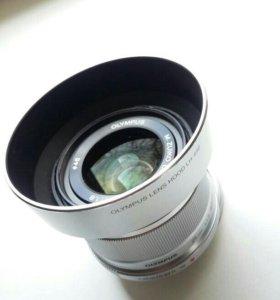 Объектив olympus 25mm f/1.8
