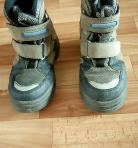 Ботинки зимние утепленные