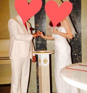 Свадебный костюм!