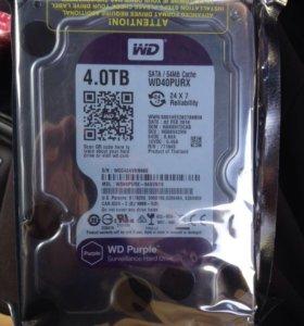 Жесткий диск 4тб. WD40PURX
