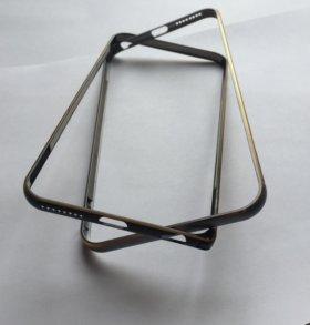 Бампер металл для iPhone 6+