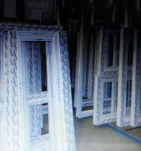 Отказное окно новое 1780*1400 (в) профиль 70мм