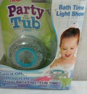 Детская светящаяся игрушка для купания Новые