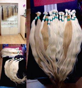 Славянские волосы. Наращивание волос.