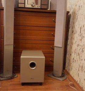 Домашний кинотятр BBK 5+1 и ресивер