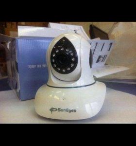 📢P2P IP/network camera 720p (видео няня)