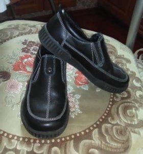 Ботинки-макасины,Зебра,30