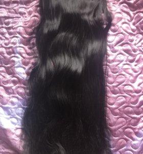Волосы термо на заколках