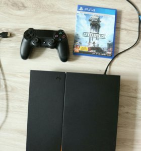 Sony PlayStation 4 + игра Star wars battle front