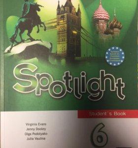 Учебник по английскому языку Spotlight 6 класс