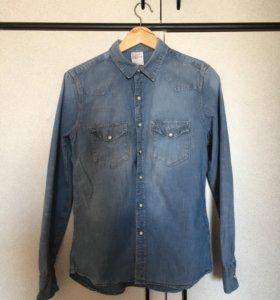Джинсовая рубашка, H&M
