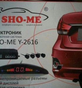Парктроник SHO-ME Y-2616 (датчики чёрные)