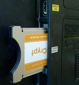 ТВ тюнер Xcrypt CRB. CAM-модуль DVB-T.