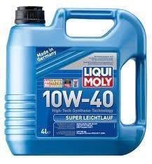 Моторное масло LIQUI MOLY Super Leichtlauf 10w-40
