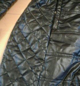 Куртка пальто под кожу