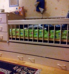 Отличный детский кровать.