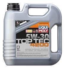 Моторное масло LIQUI MOLY Top Tec 4200 5w-30