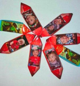 Весовые шоколадные конфеты