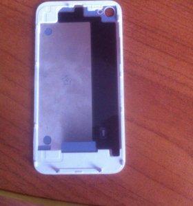 задняя крышка iphone4(white)