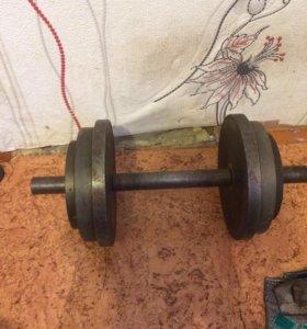 Гантеля 20 кг