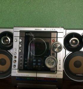 Mini dvd karaoke system samsung max-kj630