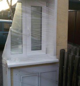 Показательные стенды монтажа пластиковых окон
