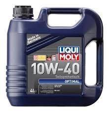 Моторное масло LIQUI MOLY Optimal 10w-40