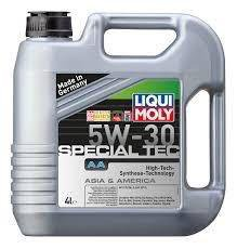 Моторное масло LIQUI MOLY Special Tec AA 5w-30