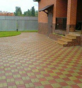 Тротуарная плитка, укладка