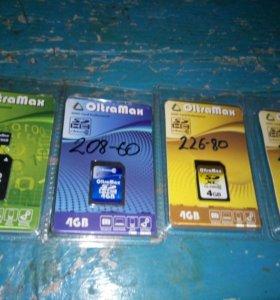 Карты памяти (флешки) microSD