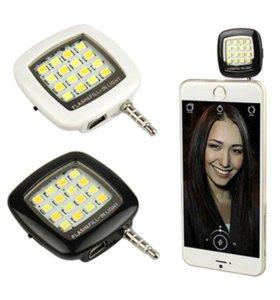 LED вспышка Selfie Flash Light RK05 (16 диодов)
