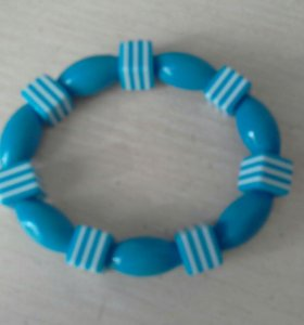 Синий брослет