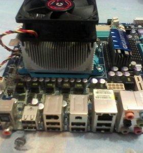 Материнская плата+ процессор AMD