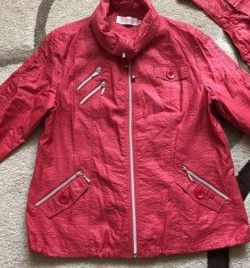 Куртка-ветровка 50-52 размер