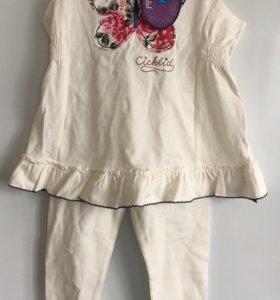 Комплект для девочки футболка и штаны