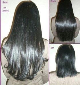 Наращивание славянских волос!