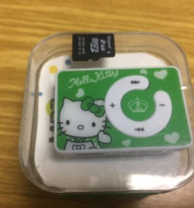 Новый MP3 плеер hello kitty
