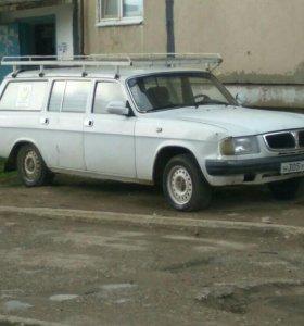 Волга  фургон