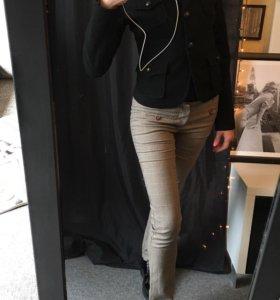 ZARA пиджак шерстяной