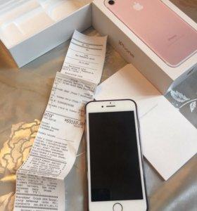 IPhone 7 rose gold 128G