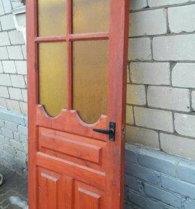 Деревянные двери.4 шт