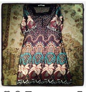 Платье шёлковое фирменное🌺
