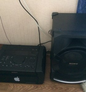 Аудиосистема Sony shake-x1d