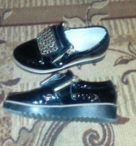 Туфли детские 34 размер