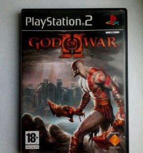 Не платиновый God of War 2 для PlayStation 2