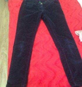 Бенетоновские вельветовые штаны